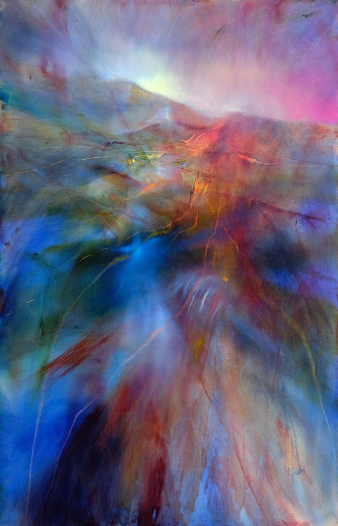 Exklusiva konstfoton Colour land