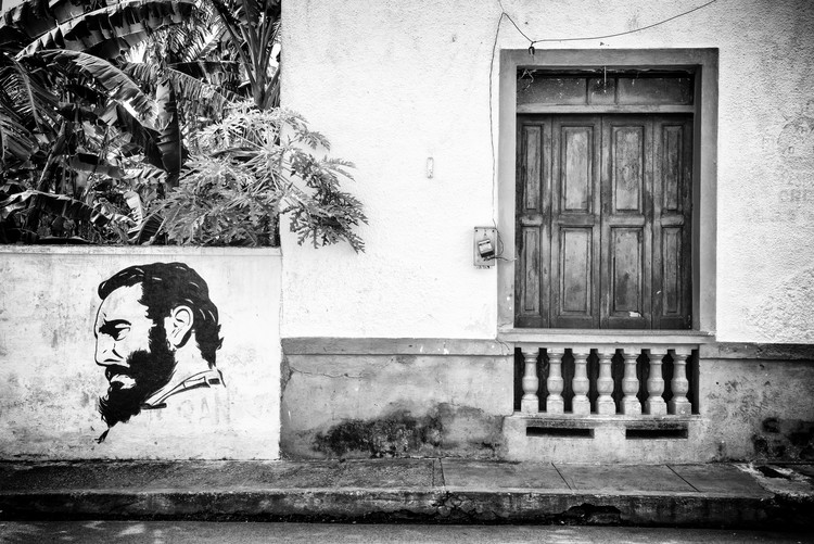 Exklusiva konstfoton Cuban Façade
