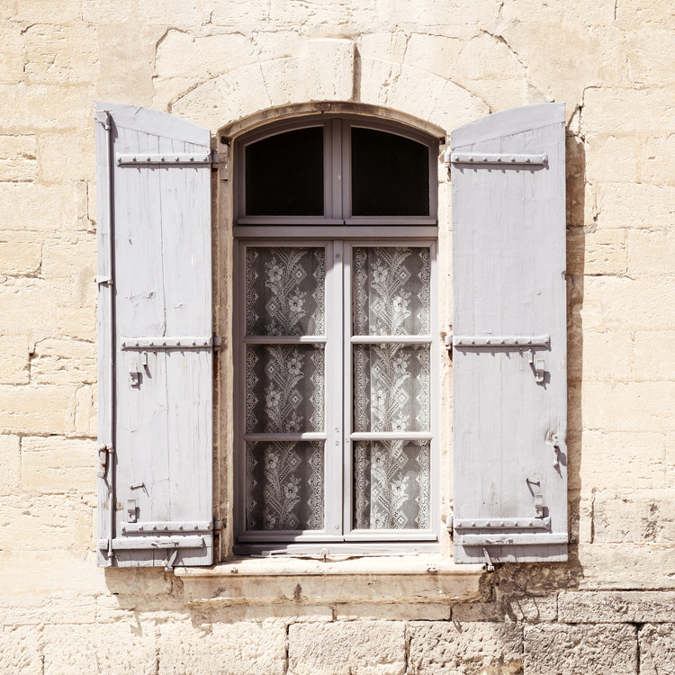 Exklusiva konstfoton French Window