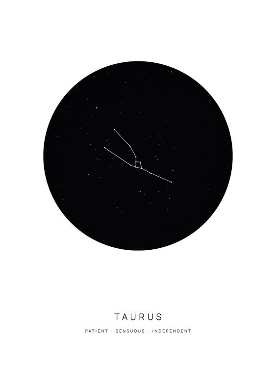 Exklusiva konstfoton horoscopetaurus