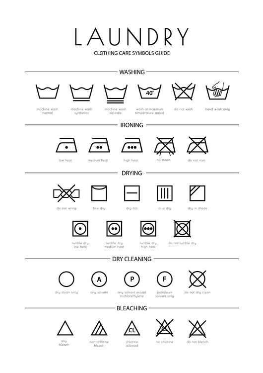 Exklusiva konstfoton Laundry