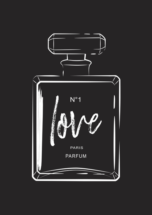 Exklusiva konstfoton Love Perfume
