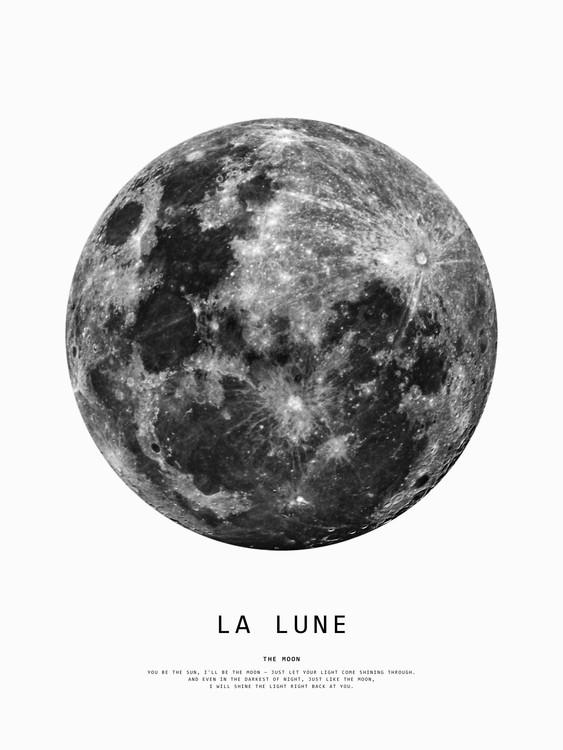 Exklusiva konstfoton moon1