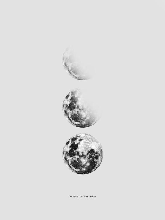 Exklusiva konstfoton moon5