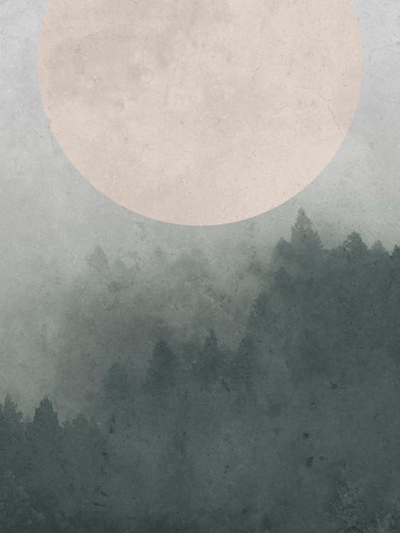 Exklusiva konstfoton Moonbird