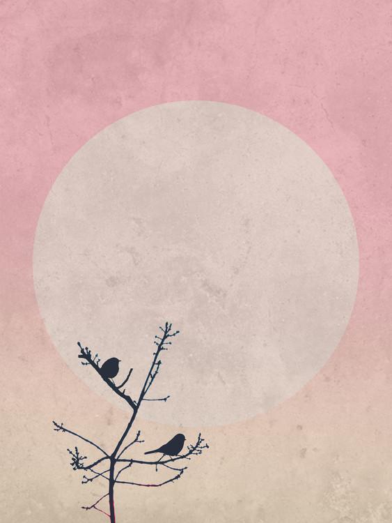 Exklusiva konstfoton moonbird8