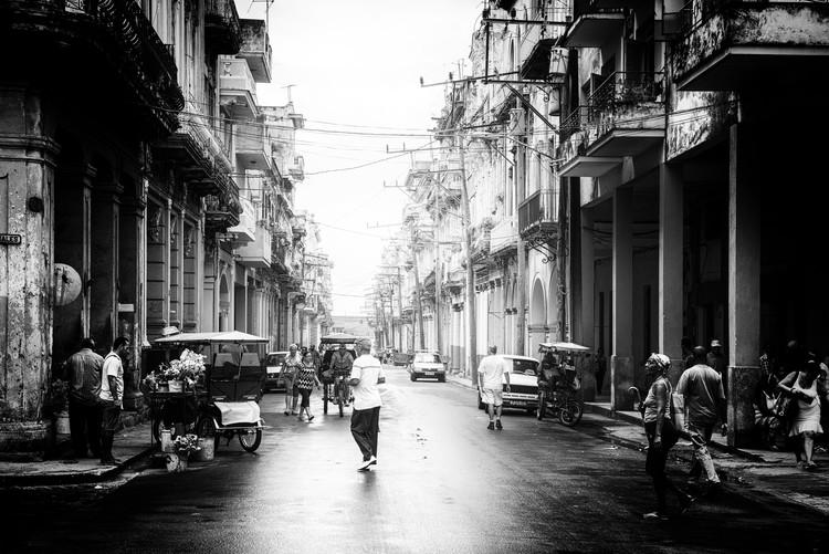 Exklusiva konstfoton Old Havana Street