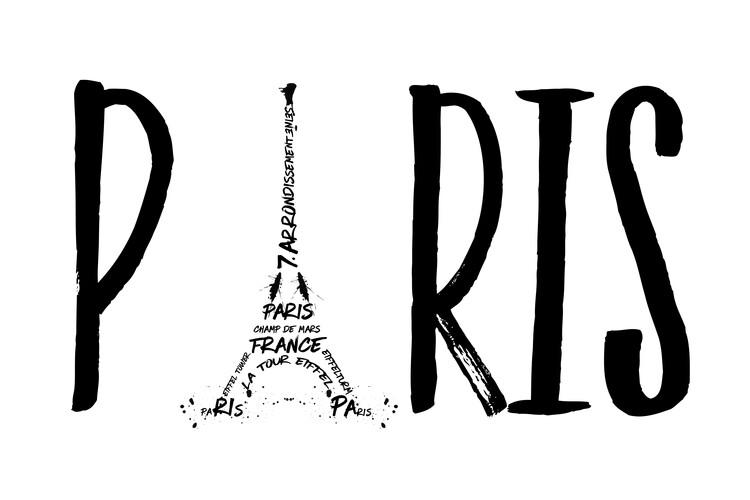 Exklusiva konstfoton Paris