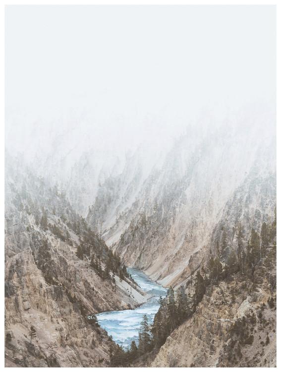 Exklusiva konstfoton river valley