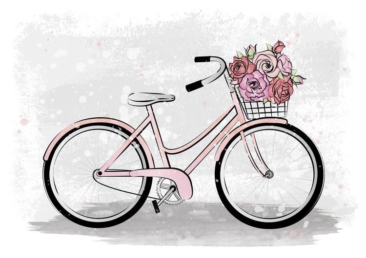 Exklusiva konstfoton Romantic Bike