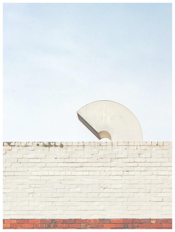 Exklusiva konstfoton rooftop