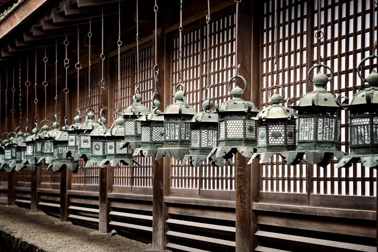 Exklusiva konstfoton Sacred Lanterns