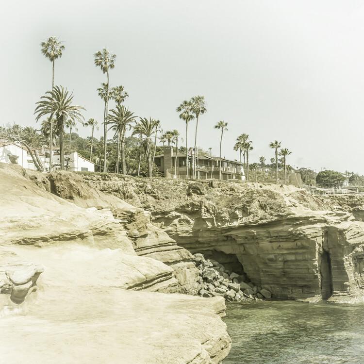 Exklusiva konstfoton SAN DIEGO Sunset Cliffs   Vintage