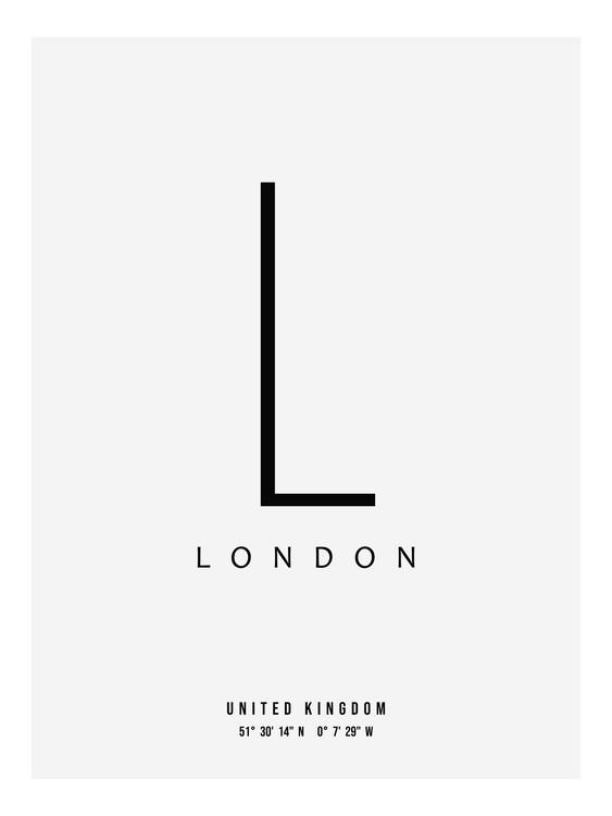 Exklusiva konstfoton slick city london