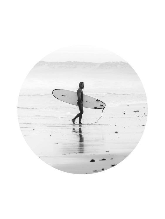 Exklusiva konstfoton surfer1