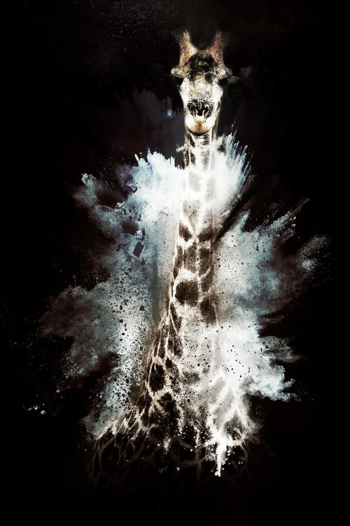 Exklusiva konstfoton The Giraffe
