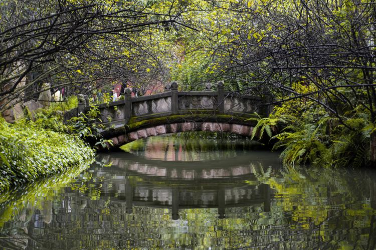 Exkluzív Művész Fotók China 10MKm2 Collection - Romantic Bridge