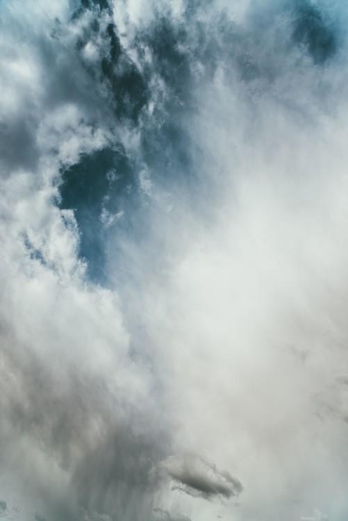 Exkluzív Művész Fotók Strong blue sky with clouds