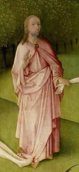 The Garden of Earthly Delights, 1490-1500 Festmény reprodukció