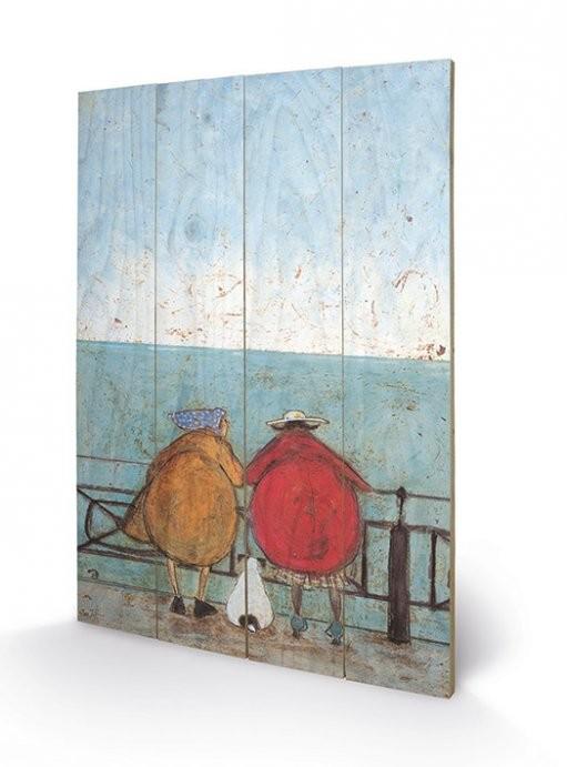 Sam Toft - Doris Earwigging Fából készült kép