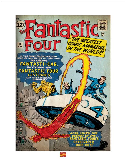 Fantasic Four Reproduction d'art