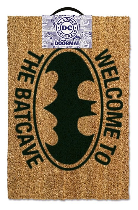 Felpudo Batman - Welcome to the batcave