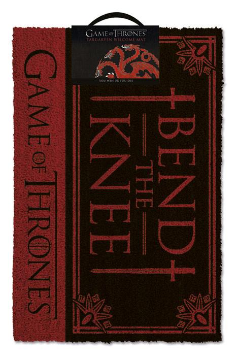 Felpudo  Juego de Tronos - Bend the knee