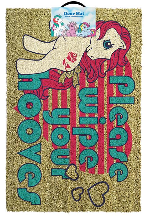 Felpudo  My Little Pony Retro - Please Wipe Your Hooves