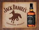 JACK DANIEL'S  BRONCO fémplakát