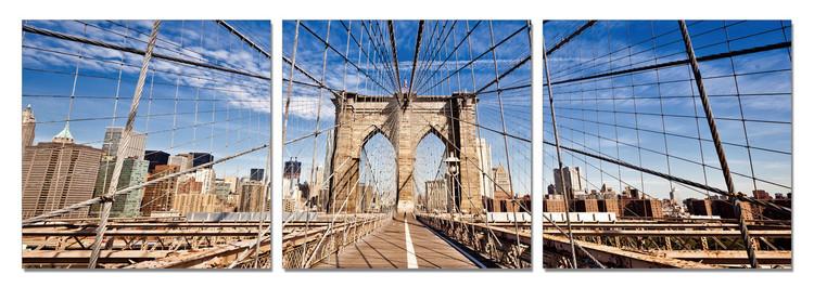 Brooklyn bridge Modern kép