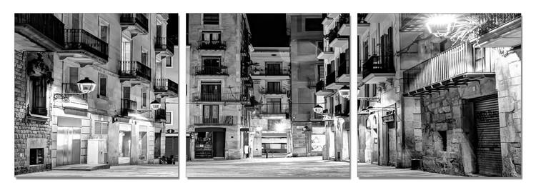 Calm City at Night Modern kép