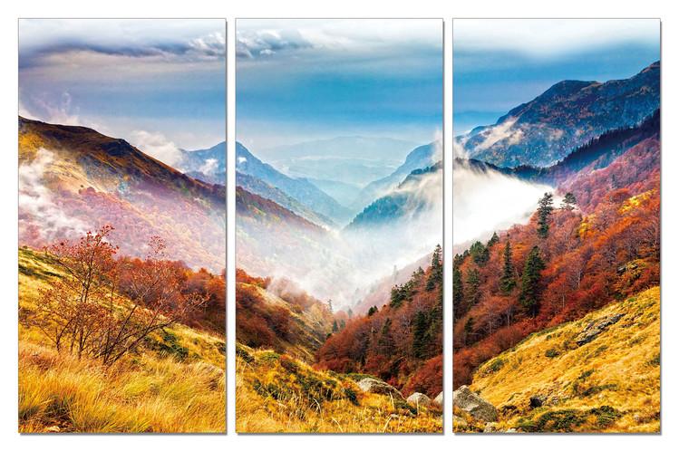 Colorful Landscape modern festmény