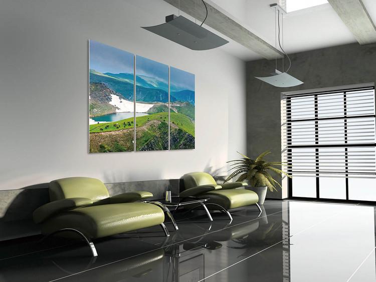 Green mountains Modern kép