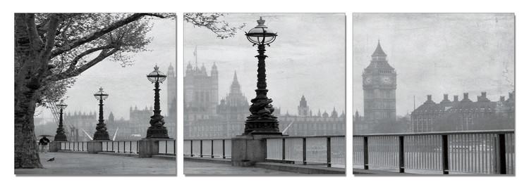 London - Westminster Palace Modern kép