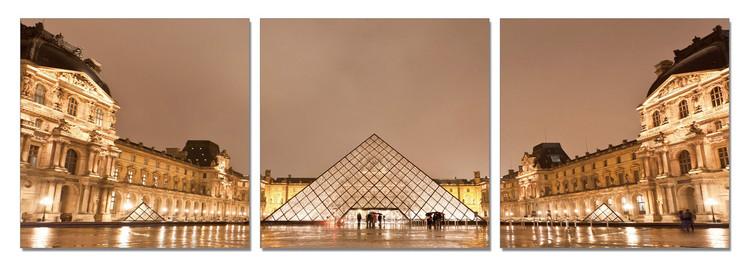 Paris - Le Louvre Modern kép