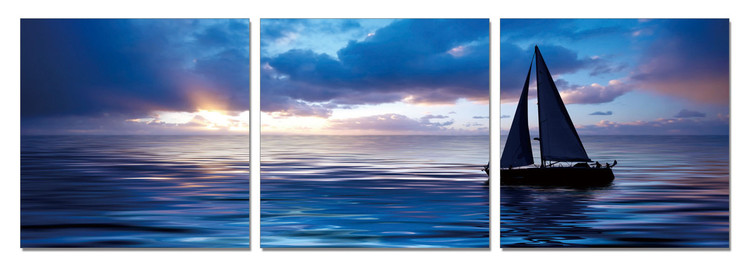 Sailing Boat - Life on the Sea Modern kép