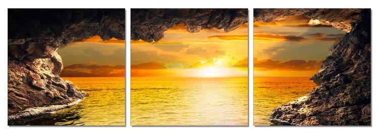 Sea - Sunset View Modern kép