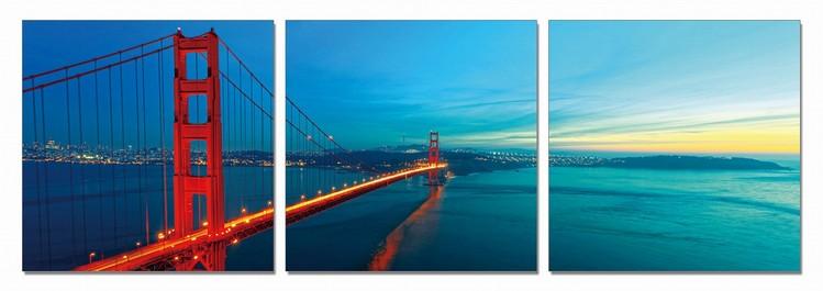 The Golden Gate Bridge Modern kép