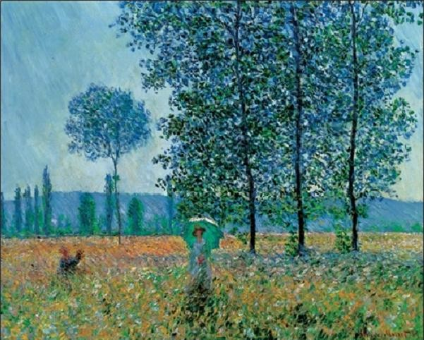 Fields In Spring Reproduction d'art