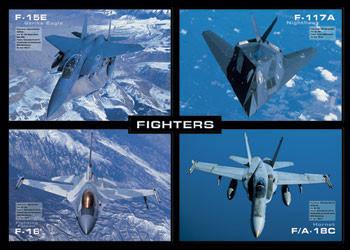 Fighters - letouny - плакат (poster)