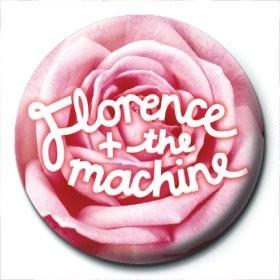 FLORENCE & THE MACHINE - rose logo Insignă