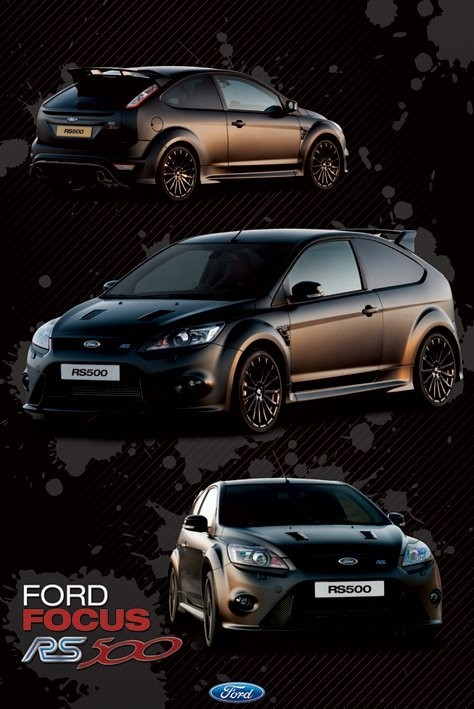 Ford Focus - rs 500 плакат