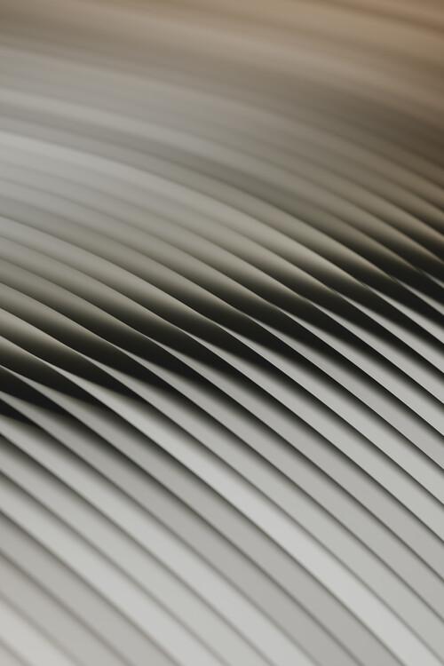 Abstract line beige 2 Fotobehang
