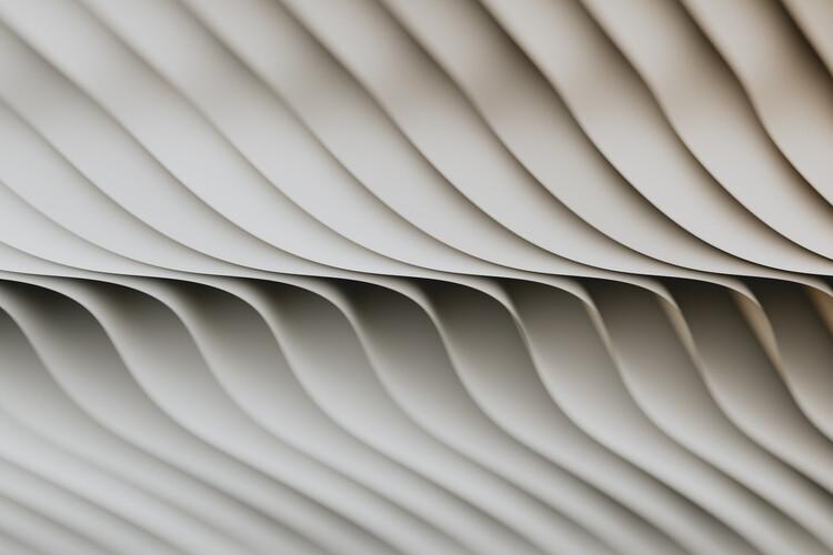 Abstract line beige 4 Fotobehang