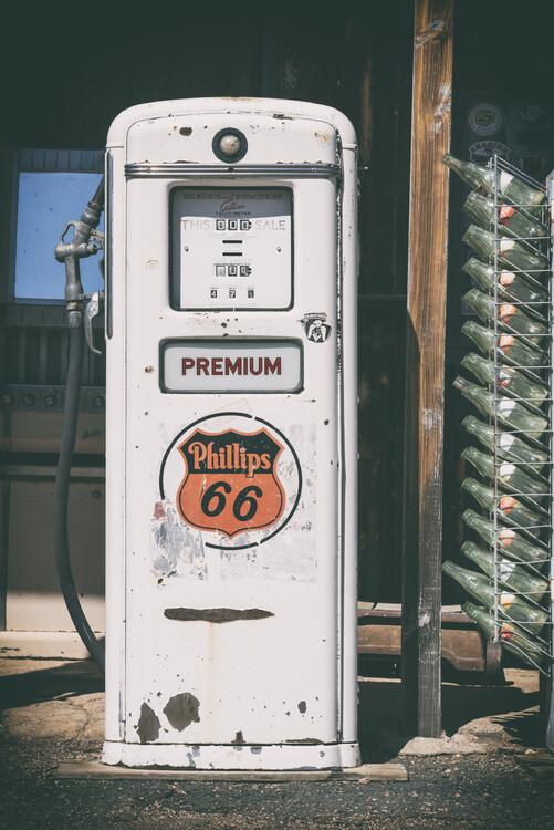 American West - Gas Station Premium 67 Fotobehang