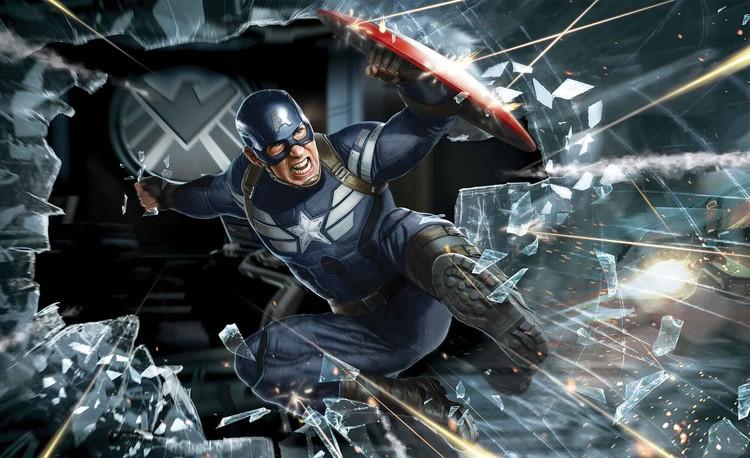 Avengers Captain America Fotobehang