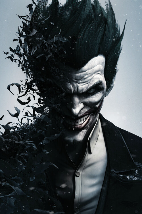 Batman Arkham - Joker Fotobehang
