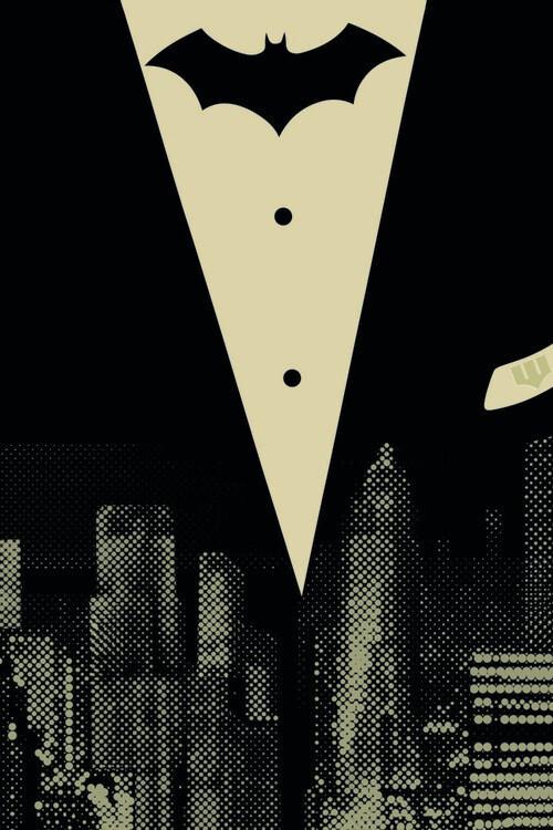 Batman - In the City Fotobehang