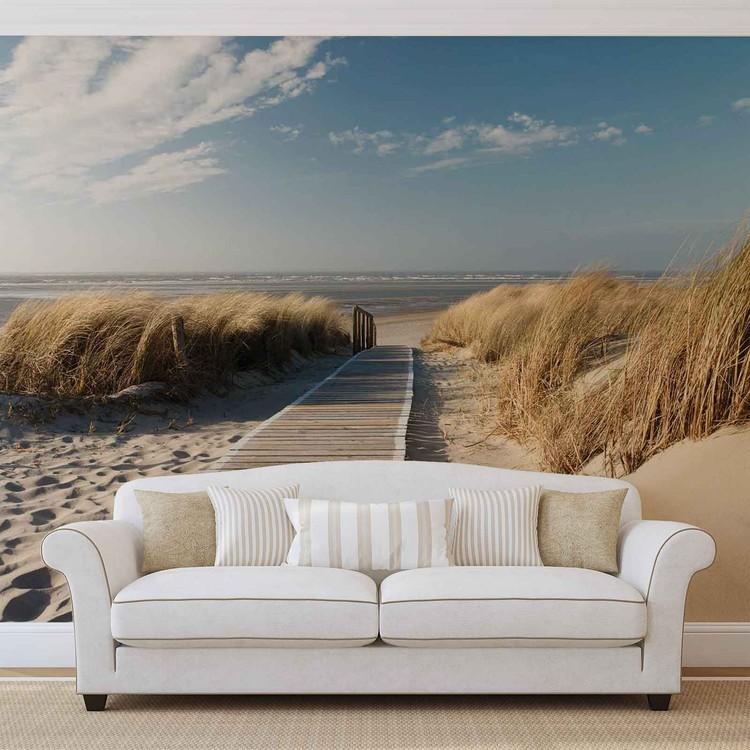 Beach Scene Fotobehang
