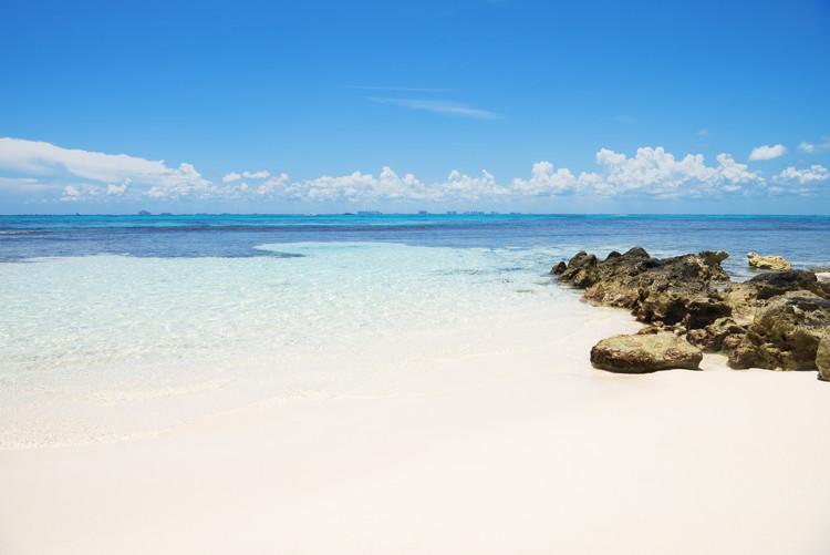 Caribbean Sea - Isla Mujeres Fotobehang